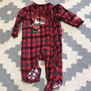 EUC Disney baby pajamas